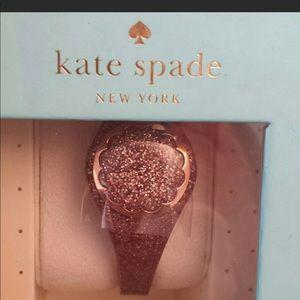 Purple glitter Kate Spade activity tracker